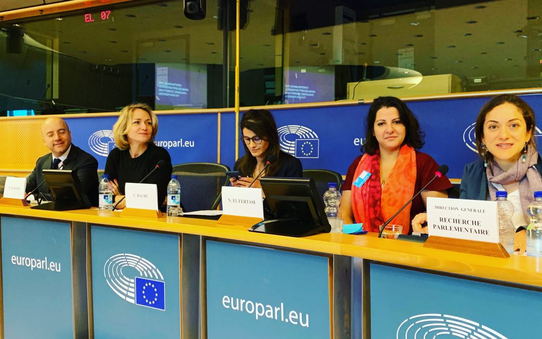 Keynote Speaker Human Security and EQ at the European Parliament